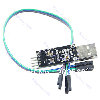 Free Shipping USB To RS232 TTL PL2303HX Connector Module Auto Converter Adapter