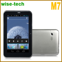 7 inch tablet pc M7 MTK6577 Dual Core Android 4.0.4 800*480 512MB RAM;4GB HDD GPS wifi/john