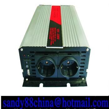 12v 2000w inverter home inverter car inverter pure sine wave  Free Shipping