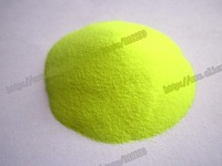 Free Shipping yellow deep green super brightness fluorescent powder Luminous powder 30g/bag