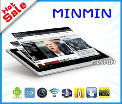 2013 Cheapest Tablet PC Android 4 0 Q88 tablet pc 3G 7 inch (No GPS/SIM/Phone) 4GB WIFI Allwinner A13 Multi Touch Capacitive(China (Mainland))