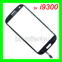 1Pcs for samsung Galaxy S3 SIII i9300 Outer touch Screen Top Glass Lens Replacement  with flex cable + tracking CODE