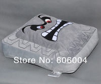 Free Shipping Cute Super Mario Bros Thwomp Dossun Plush Doll Toy Cushion/Pillow New Wholesale And Retail