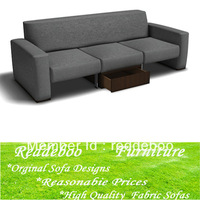 Free shipping Multifunctional combination fabric sofa 6708