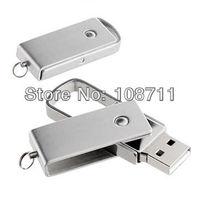 50Pcs/Lot Wholesale 2GB/4GB/8GB/16GB Metal Keychain USB Flash Memory Stick Key Drive,Bulk Price USB 2.0 Thumb Disk Pen Drive