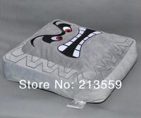 "Free Shipping New Super Mario Bros Thwomp Dossun Cushion Pillow Plush Doll 13"" Retail"