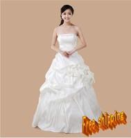 Clothing clothing wedding dress train tube top wedding dress
