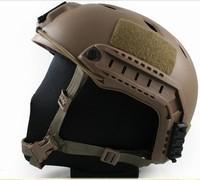 Airsoft FAST Base Jump Helmet Dark Earth