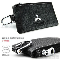 Real Leather Mitsubishi Key Case Outlander/Lancer/Lancer-ex/Pajero/ASX