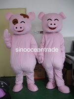Pigs 2 Mascot Costume Fancy Dress Outfit EPE