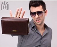 Free shipping !! 2013 new coming fashion  clutch bag for men  business casual day clutch designer brand famouse brand