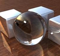 Diameter 40mm Crystal glass ball sphere Modern Fashion K9 Crystal Glass ball 10pcs free shiping