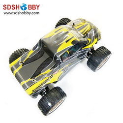 HSP 1/10 Brushless RC Electric Off-Road Monster/Truck RTR (Model No.: 94111PRO) with 2.4G Radio, 7.2V 1800mah Battery(China (Mainland))