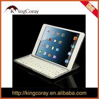 For iPad MiNi Aluminum Wireless Bluetooth Keyboard Case