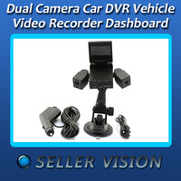 Dual Camera Lens Car DVR Vehicle Video Recorder Dashboard Night Vision SPC-0657