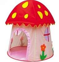 Promotion price child mushroom tent game house toy tent kids outdoor tent indoor play house