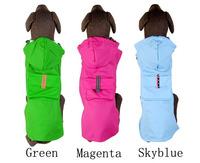 2014 new fashion dogs.High quality dog raincoat poncho raincoat three-color large dogs