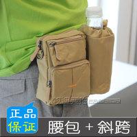 Waist pack Men fashion sports bag shoulder bag camera bag bottle bag messenger bag male outdoor waist pack