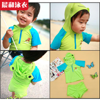 2014 Special Offer New Freeshipping Cotton Striped Free Shipping! Swimwear 2 - Split Child Male Baby Cy1088