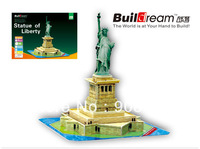 puzzle paper craft  US Statue of Liberty DIY 3D three-dimensional puzzle   Building model Educational Toy free shipping