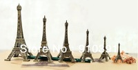 Free ship/EMS,8cm France paris souvenir Retro metal crafts 3D Eiffel Tower,Bronze French la tour effel as personal collection.
