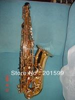 gold lacquer alto saxophone imitating 82Z  HSL-1002