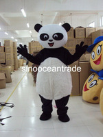 Small Head Panda Mascot Costume Fancy Dress Outfit EPE