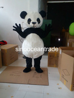 Dolichotrichus Head And Belly Panda Mascot Costume Fancy Dress Outfit EPE