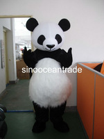 Lovely Dolichotrichus Belly Panda Mascot Costume Fancy Dress Outfit EPE