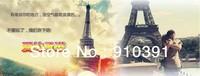 Free shipping,10cm France paris souvenir Retro metal crafts 3D Eiffel Tower,Bronze French la tour effel as personal collection.
