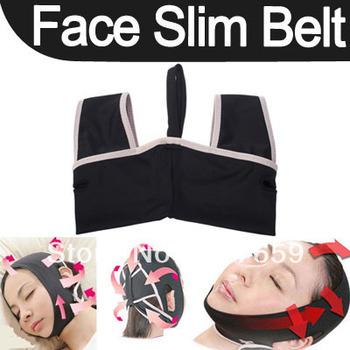 1pcs Hot 3D Chin Uplift Sharp Slim Slimming Shaping Cheek Scalp Face Belt Anti Wrinkle Sagging Mask Wholesale Free shipping