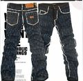 New Men's Washed Denim Jeans mens  Denim Jeans 31 32 33 34 36 DX9