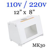 """5pcs/lot  Sanoto 12"""" x 8"""" Mini Photo Studio Photography Box Softboxes 110v/220v MK30"""