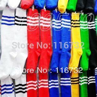 free shipping blank cotton soccer socks stockings best football stockings plain stockings students socks