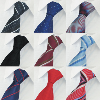 New Fashion Striped Colorful Men's Tie Necktie surprise promotion price 8cm  width