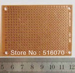 HOT SALE!! 5 * 7CM universal board 5cm x 7cm PCB test board 50PCS/LOT advantage of price and quality service(China (Mainland))