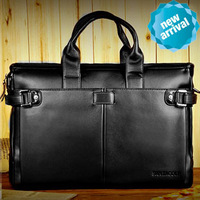 2013 new arrival men's genuine leather business briefcase / vintage leather  handbag for male / versatile leather bags