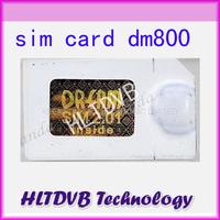 DM800 Sim card 2.01 for DM800hd SIMcard 2.01, DM800s sim2.01 Digital Satellite Receiver Free Shipping Post