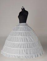 free shipping 6-HOOP 1-LAYER PETTICOAT petticoat wholesale/retail