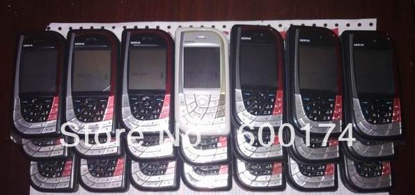 Freeshipping unlocked original Nokia 7610 senior/old men people phone 2MPcamera FM Mp3 cell refurbished mobile phones(China (Mainland))