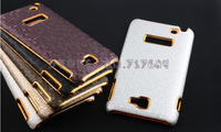 Luxury Chrome Case for Samsung Galaxy Note i9220 N7000,Hard Back Cover for Galaxy Note,Free Shipping