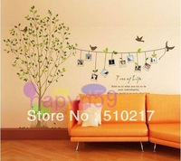 memory tree third generations sticker wallpapers removable photos tree plant photo bedroom living room TV backdrop wall stickers