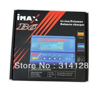 IMAX B6 2S 3S 4S 5S 6S AC DC multifunction balance charger for Li-ion Li-Poly Li-Fe NiCD NiMh Battery