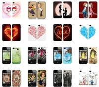 Free sample Free shipping DIY logo printing custom phone case for iphone 4s 5s 5c waterproof hard shell cover mix model