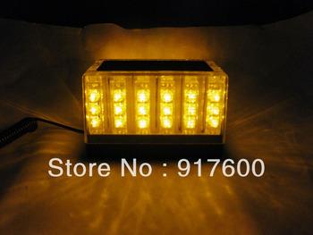 48 LED Car Truck Roof Tow Mini Strobe Flash Emergency Lightbar Amber