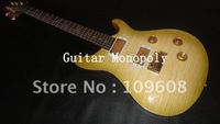 Wholesale - 2012 New arrival Emerald color colorful bird fretboard OEM Electric guitar with gold hardware in stock / HOT