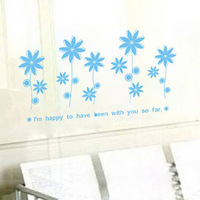 Free Shipping/Wholesale And Retail,New PVC Wall Sticker Wallpaper Home Decor Wall Art Mural/H-64
