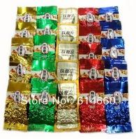 25pcs,5 Different Flavors TieGuanYin Oolong Tea 200g/5pcs*5,free shipping