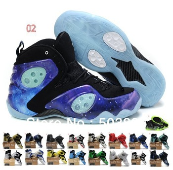 2013 Men Basketball shoes foamposite one paranorman lighted Penny Hardaway 3th generation Sneaker trainer nk brand Sport boots
