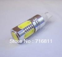 Super Bright auto lamps car rear lights T10 7.5W car led bulb led wedge bulb W5W lamp Free shipping